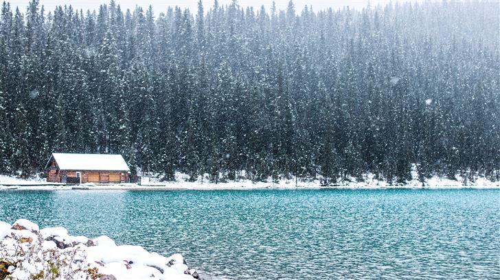 lake louise canada banff landscape alberta rocky 5 Mac Wallpaper