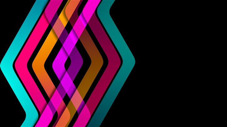 dna formation lines abstract 8k Mac Wallpaper