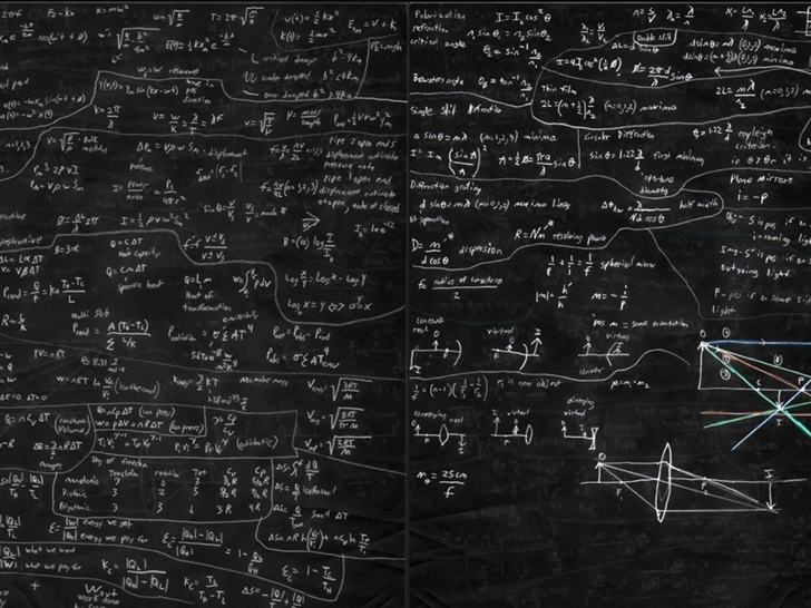 Mathematical formulas Mac Wallpaper
