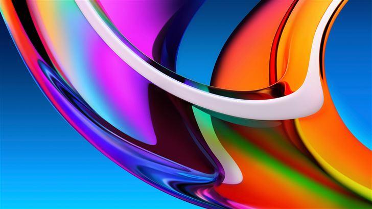 iridescence big sur Mac Wallpaper