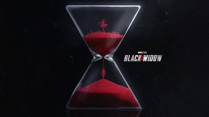 black widow movie poster 8k Mac Wallpaper