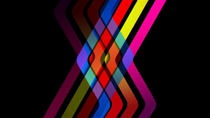lines intersaction abstract 8k Mac Wallpaper