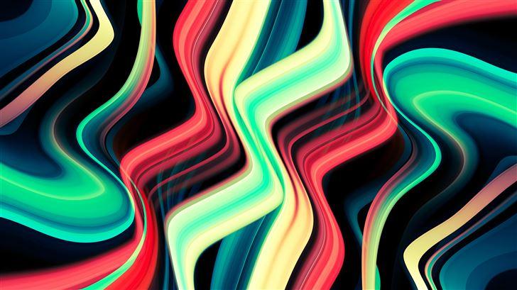 galactic wave abstract 8k Mac Wallpaper