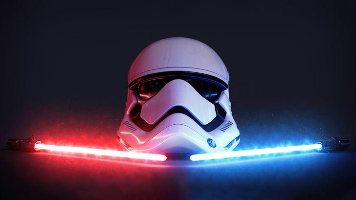 storm trooper 5k Mac Wallpaper