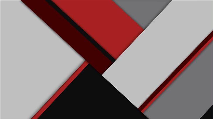 material red grey 8k Mac Wallpaper