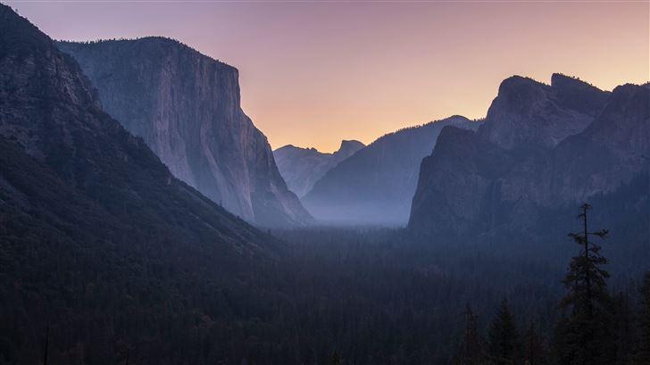 rock mountains cliff 5k Mac Wallpaper