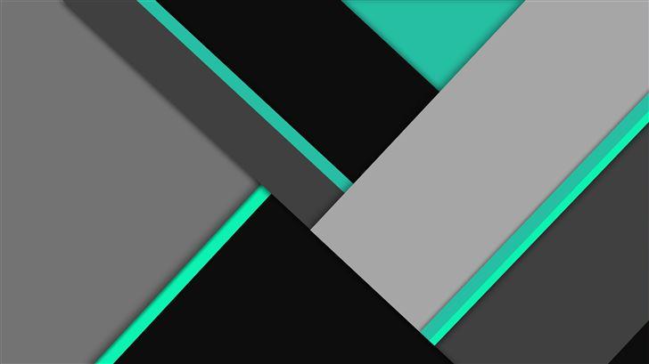 absract black green 8k Mac Wallpaper