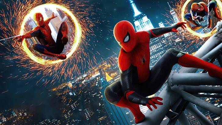 2021 spiderman no way home 5k Mac Wallpaper