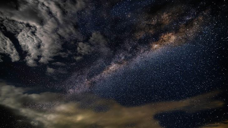 milky way astronomy constellations storm clouds st Mac Wallpaper