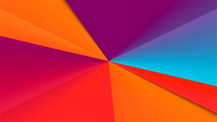 clean colors abstract 8k Mac Wallpaper