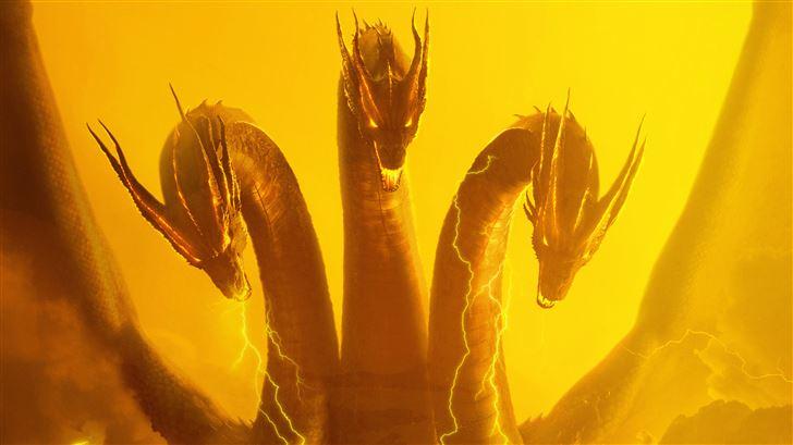 godzilla the king of monsters 8k Mac Wallpaper