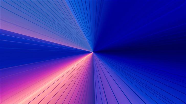shining lights prism abstract 8k Mac Wallpaper