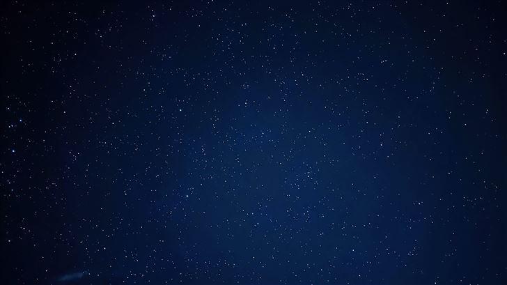 blue sky full of stars 5k Mac Wallpaper
