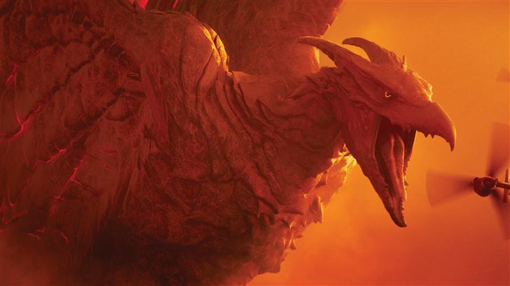 godzilla king of the monsters 10k Mac Wallpaper