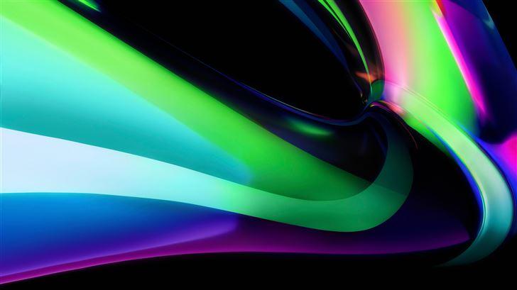 light stream green big sur Mac Wallpaper