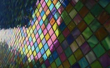 Mosaic pattern background Mac wallpaper