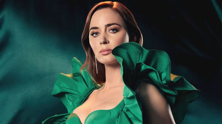 emily blunt the hollywood reporter 5k Mac Wallpaper