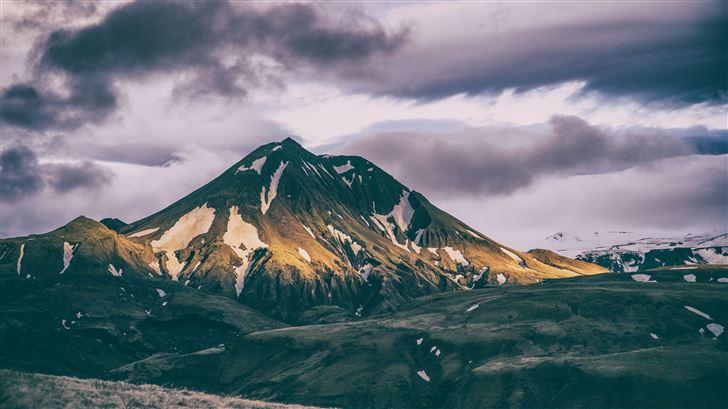 horizon landscape mountains range 8k Mac Wallpaper