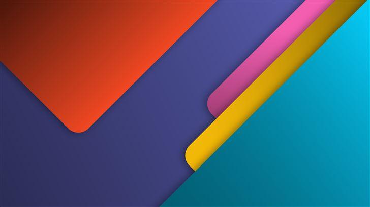 material minimal shape 8k Mac Wallpaper