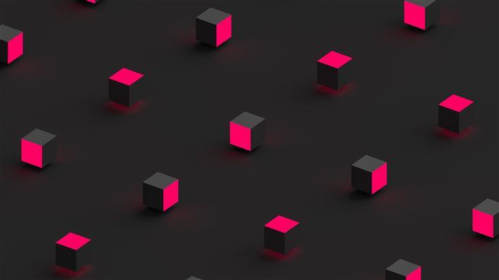 lights square 8k Mac Wallpaper