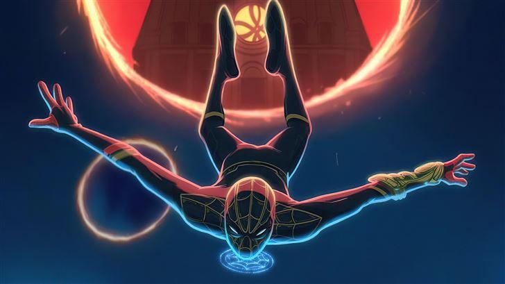 marvel studios spiderman no way home 5k Mac Wallpaper