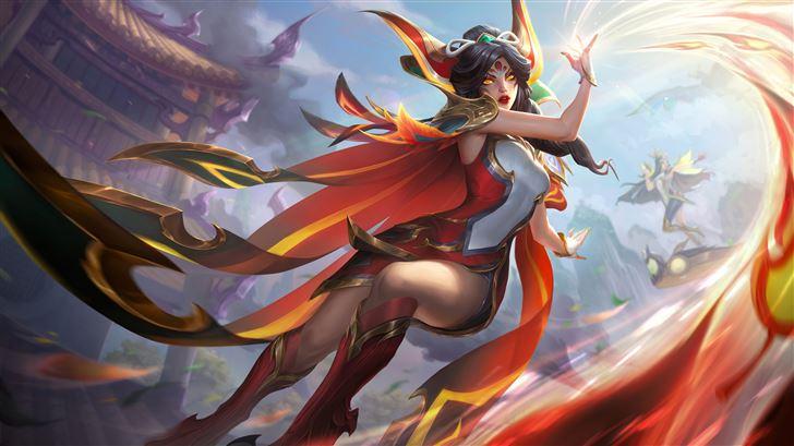 phoenix league of legends 5k Mac Wallpaper
