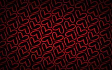 Minimalistic pattern red Mac wallpaper