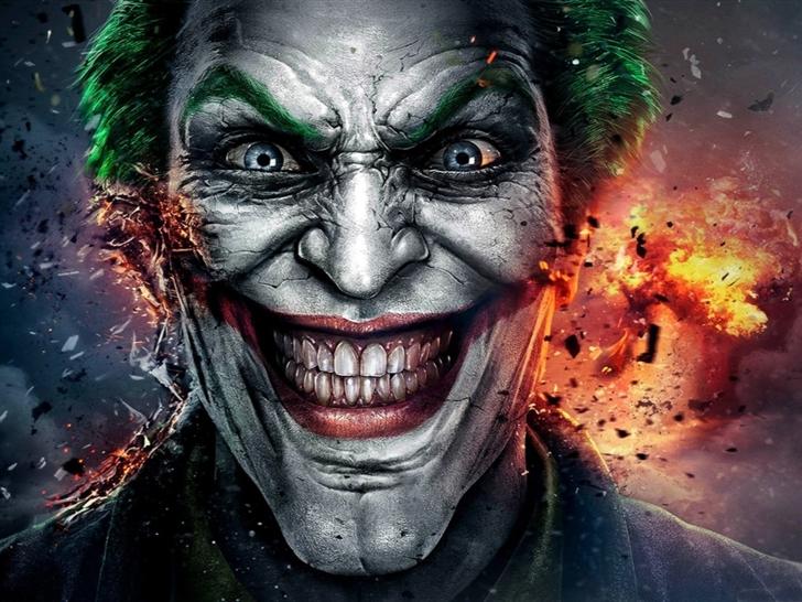 joker face Mac Wallpaper