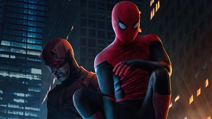daredevil in spider man no way home Mac Wallpaper