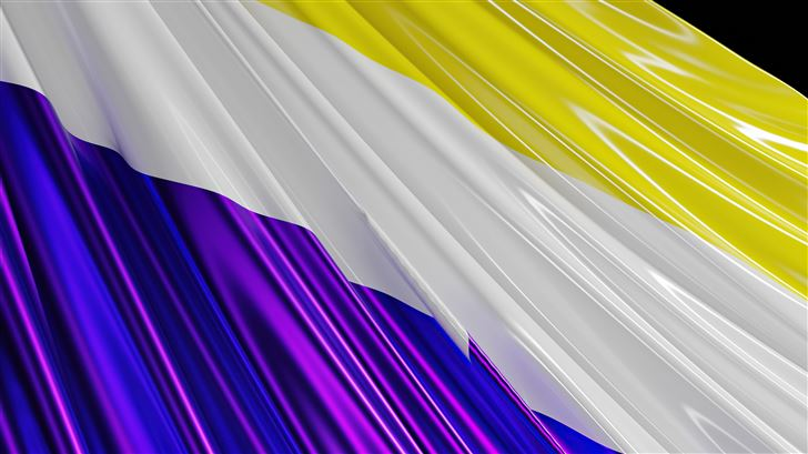 non binary flag Mac Wallpaper