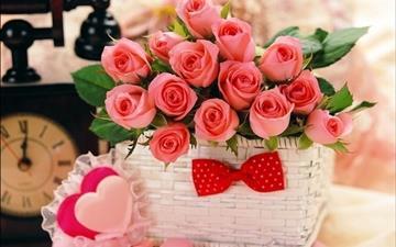 Valentine's Day rose Mac wallpaper