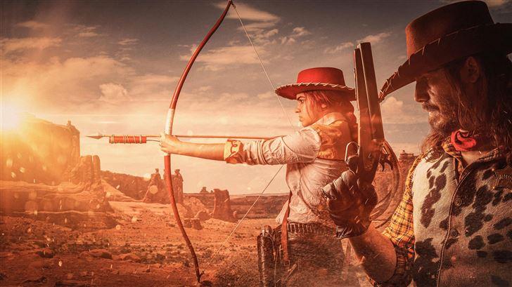 red dead redemption cosplay 8k Mac Wallpaper