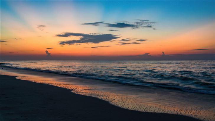sunrise huntington beach state park 5k Mac Wallpaper