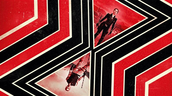 black widow movie poster 5k Mac Wallpaper