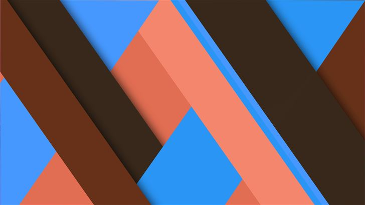geometry lines and shapes 8k Mac Wallpaper