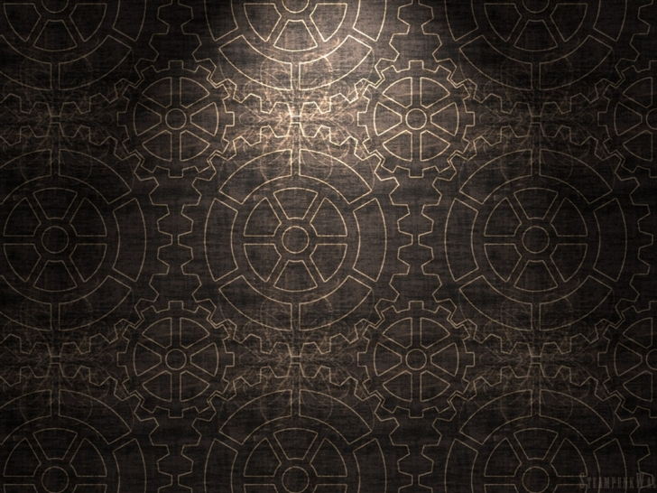 Gears pattern background Mac Wallpaper