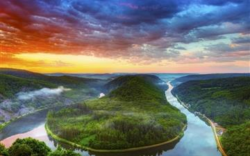 Yellow River Basin Mac wallpaper