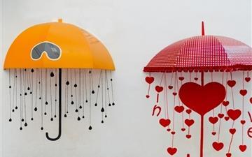 Umbrella Of Love Mac wallpaper