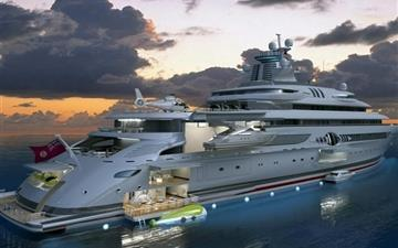 Yachts Sea Mac wallpaper