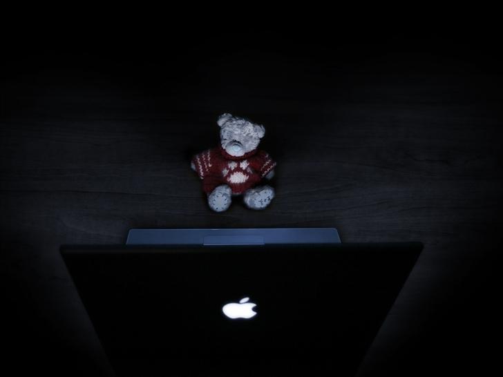 Teddybear Mac Mac Wallpaper