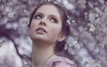 Spring Beauty Mac wallpaper