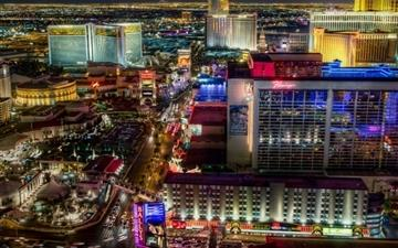 Las Vegas Strip North All Mac wallpaper