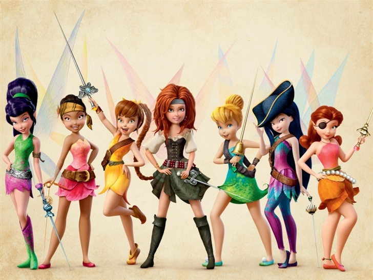 The Pirate Fairy Poster Mac Wallpaper