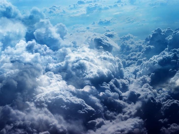 Cloud White Gray Mac Wallpaper