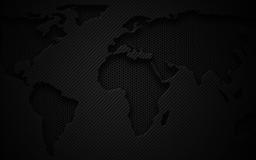 World Map Dark