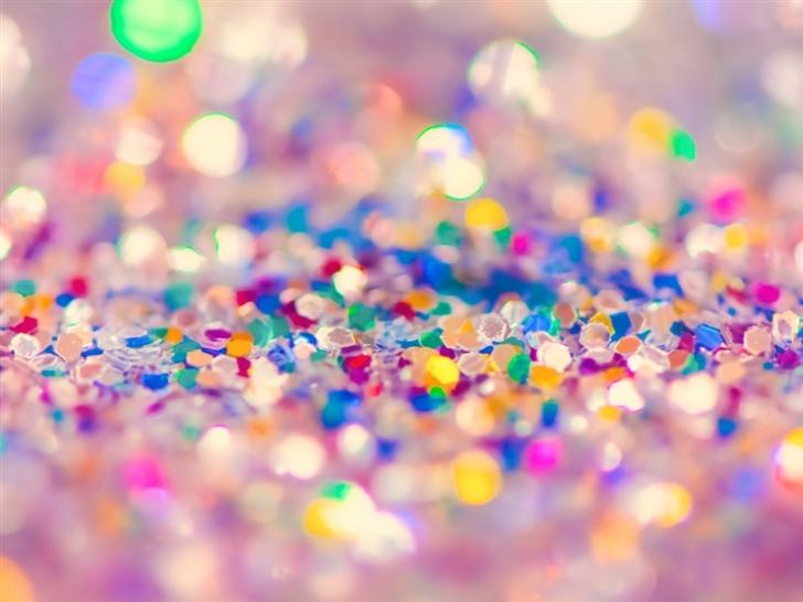 Colorful Glitter Mac Wallpaper