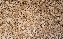 Arabesque art background