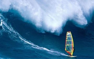 Hawaiian Surfing All Mac wallpaper