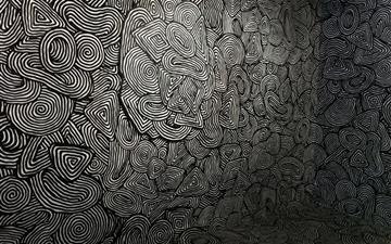 Easter psychedelic pattern Mac wallpaper