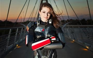Mass Effect Shepard All Mac wallpaper